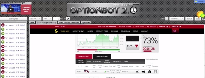 Binary options bot free download