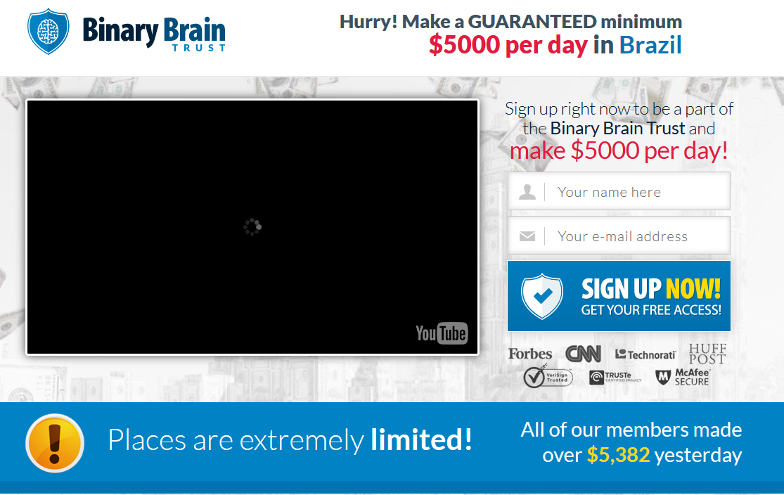 Binary options brainwave review