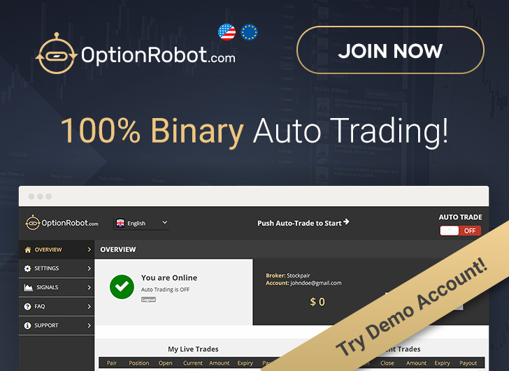 Free binary options trading robot