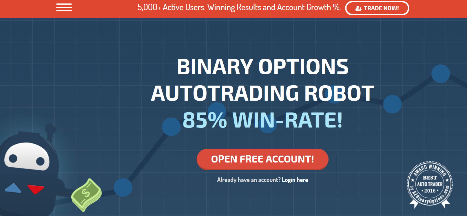 Binary options robots review