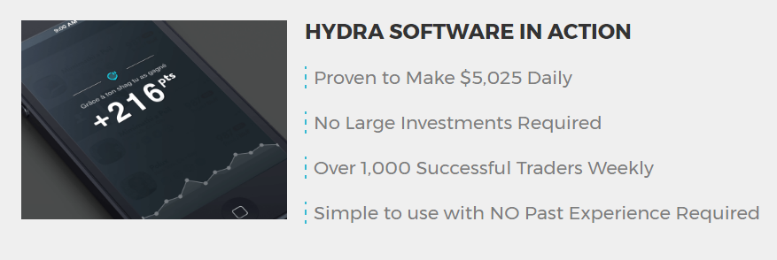 Hydra App Features