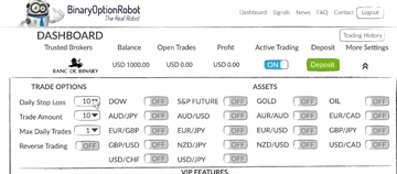 binary option robot scam investigation