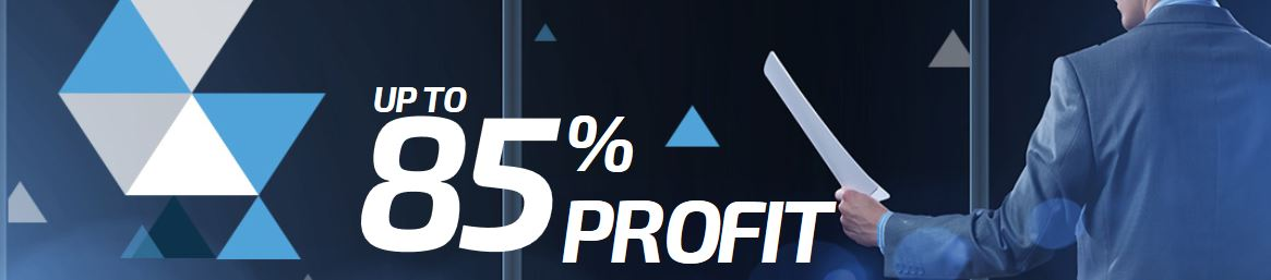Profits are up to 85% in up/down options