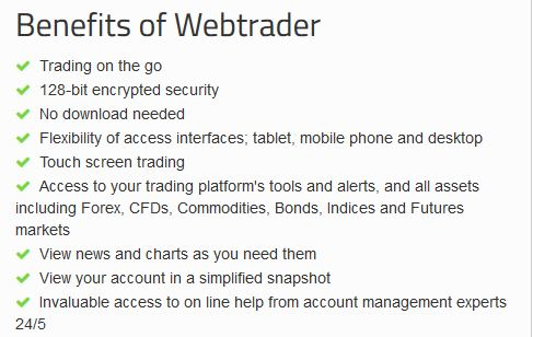 stock webtrader benefits