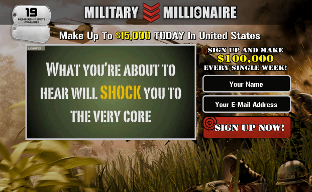 The military millionaire review slick scam or honest military millionaire system malvernweather Images