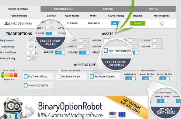 Highlow binary options trading a few points to victory