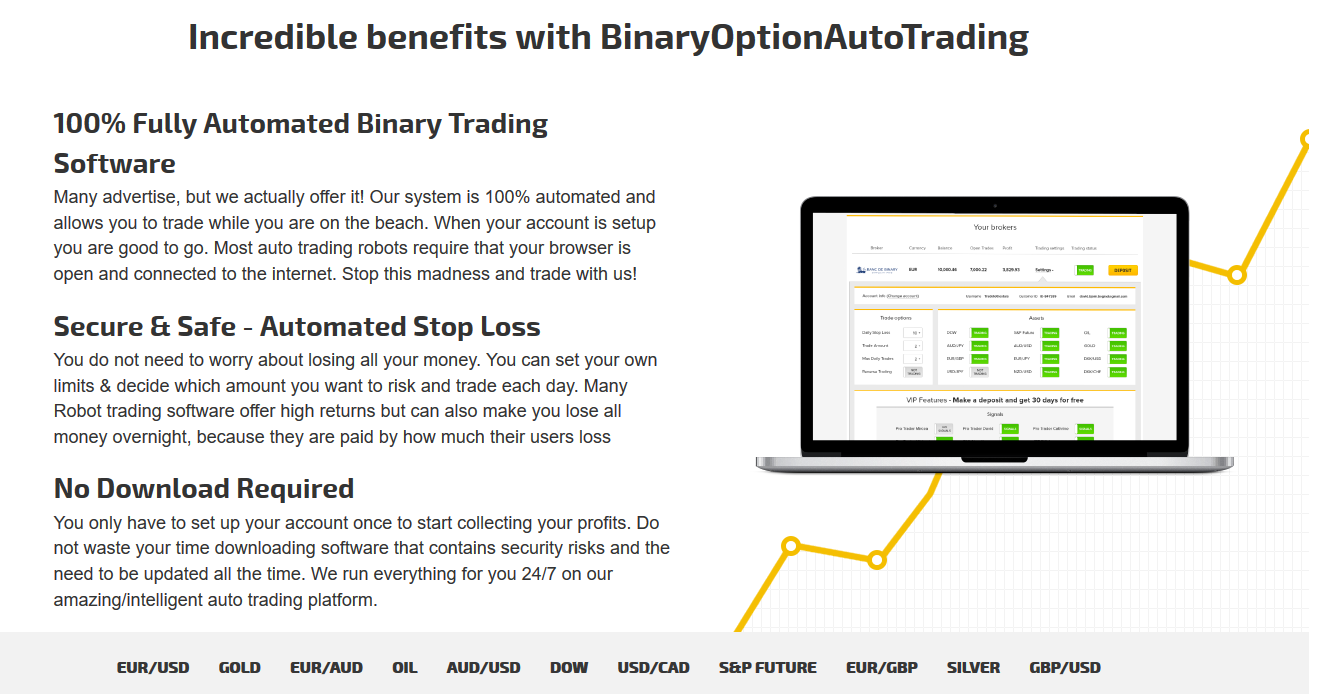 Binary options trading information