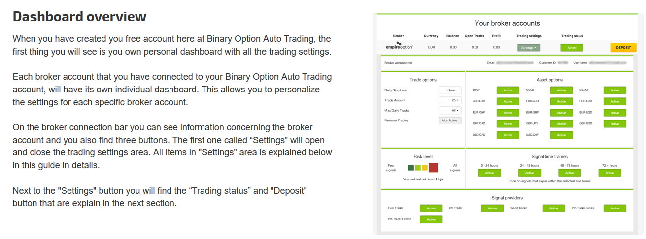 Major binary options platforms usa