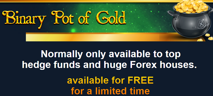 binary pot of gold limited amount of traders slots... yea right