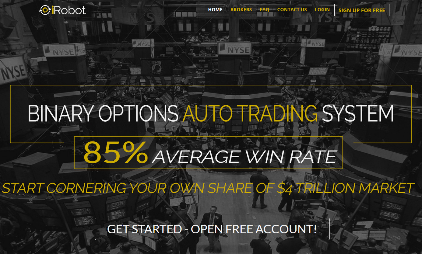Professional binary options robot
