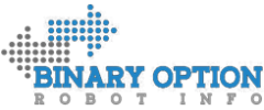 Logo of Binary option with two arrows pointing opposite sides